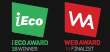 iECO AWARD 18 WINNER / WEB AWARD 18 FINALIST